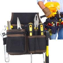 1Pcs Große Kapazität Taille Taschen Elektriker Werkzeug Tasche Organizer Tragetasche Werkzeuge Tasche Gürtel Taille Tasche Fall