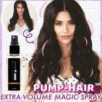 PUMP-HAIR Lazy Hair Styling-Spray desechable de peinado rápido que contiene fibras densas para el cabello, Spray para el cabello de uso diario, 30ml, TSLM1