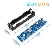 5V/12V 18650 lityum pil Boost Step Up modülü şarj deşarj aynı anda UPS koruma levhası şarj cihazı pil devresi Li ion
