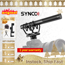 SYNCO Mic-D30 On-camera Shotgun Microphone,Condenser Mic for DSLR/SLR,Smartphone,Filmmaking, TV, Studio Recording PK Comica