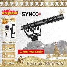 SYNCO Mic-D30 kamera av tüfeği mikrofon, kondenser mikrofon DSLR/SLR, akıllı telefon, film yapımı, TV, stüdyo kayıt PK Comica