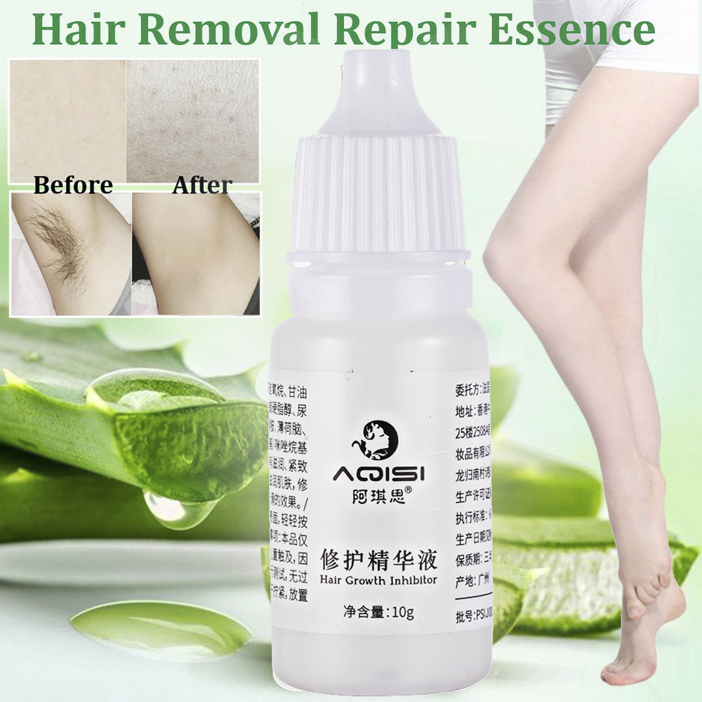 Permanent Hair Growth Inhibitor Hair Removal Repair Essence Cera Depilatoria Stop Hair Removal Spray Creme Depilatorio Depilar