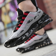 цена на Brand Men Running Shoes Outdoor Athletic Walking Sneakers Breathable Jogging Air Cushioning Male Gym Fitness Sneakers Plus Size