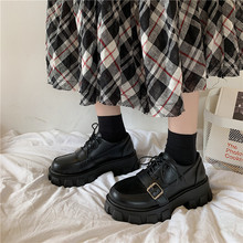 British Style Leather Shoes Female 2021 New Spring Ins Retro Student Korean Style Versatile Summer Ulzzang Pumps women shoes