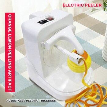 Electric Peeling Machine Automatic Peeling Artifact Fruit Peeling Plane Peeling Machine Multifunctional White Machine фото