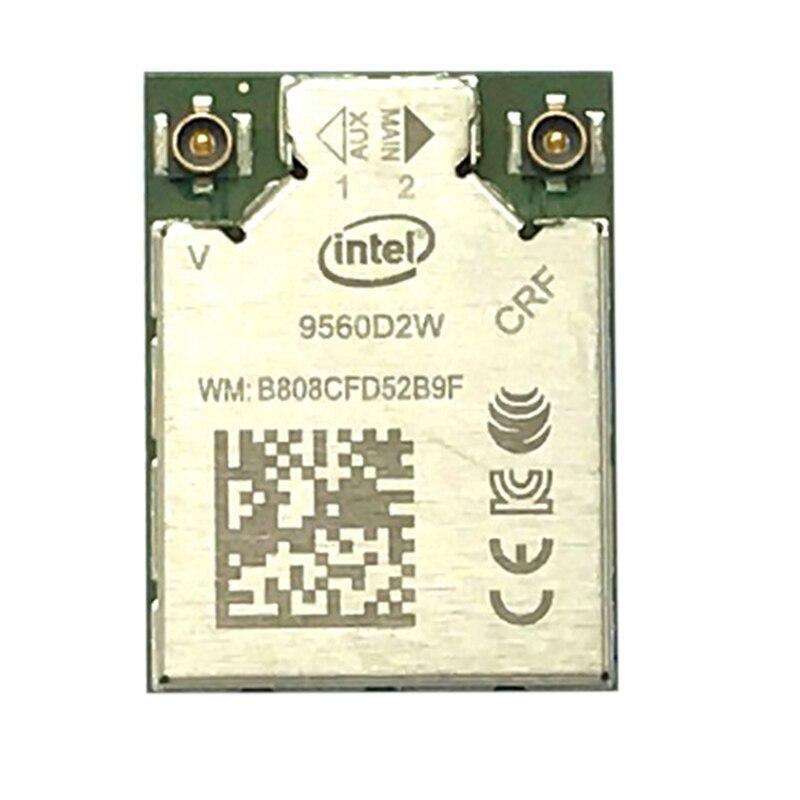 Key Laptop E-Wifi-Card Bluetooth Dual-Band Intel Ac 9560AC Windows-10 Wireless For 9560/9560d2w/Ngff/Key
