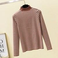 2019 new winter women's 100% pure cashmere sweater women's bottom coat Long Sleeve Pullover