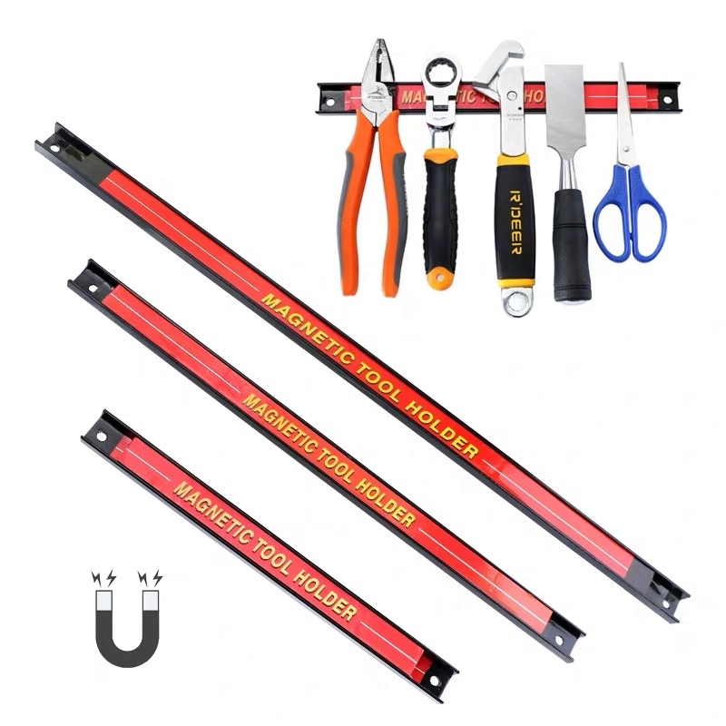 BALLE Magnetic Tool Holders Strong Metal Magnet Heavy Duty Wall Holder Strip For Screwdriver Wrench