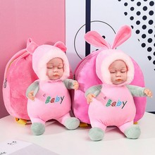 New Mini School Cute Bag Baby Backpack Childrens Gifts Infant Boys Girls Fashion Kindergarten Plush Doll