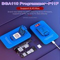 JC P11 BGA110 PCIE Programmer for iPhone XSMAX XS XR X 8P 8 NAND Flash for SYSCFG Data Modification & Write Repair