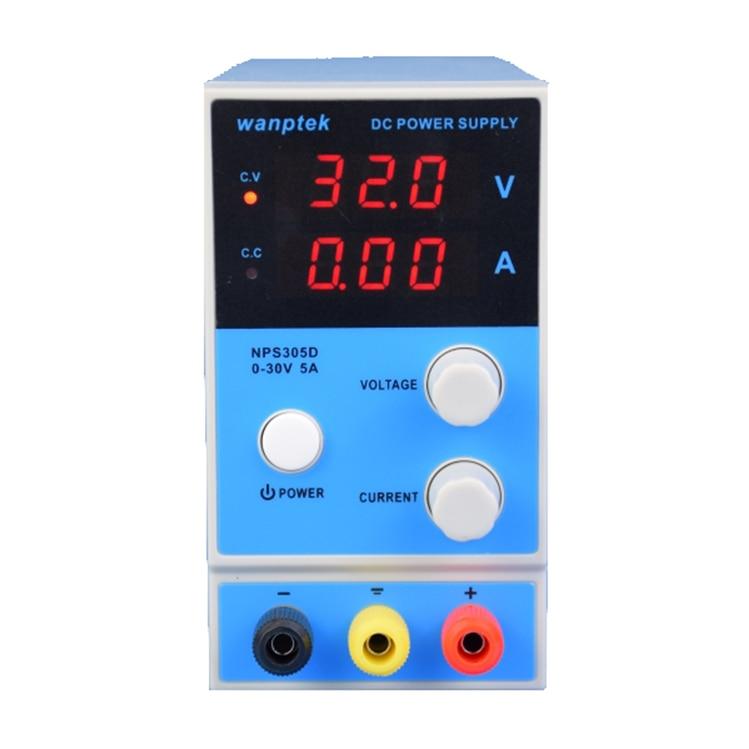 Wanptek KPS305D 30V 5A Switch Digital Display Adjustable DC Lab Power Supply