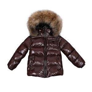 Down-Jacket Coat Clothing Snowsuit Toddler Real-Fur Girls Baby Kids Winter Children