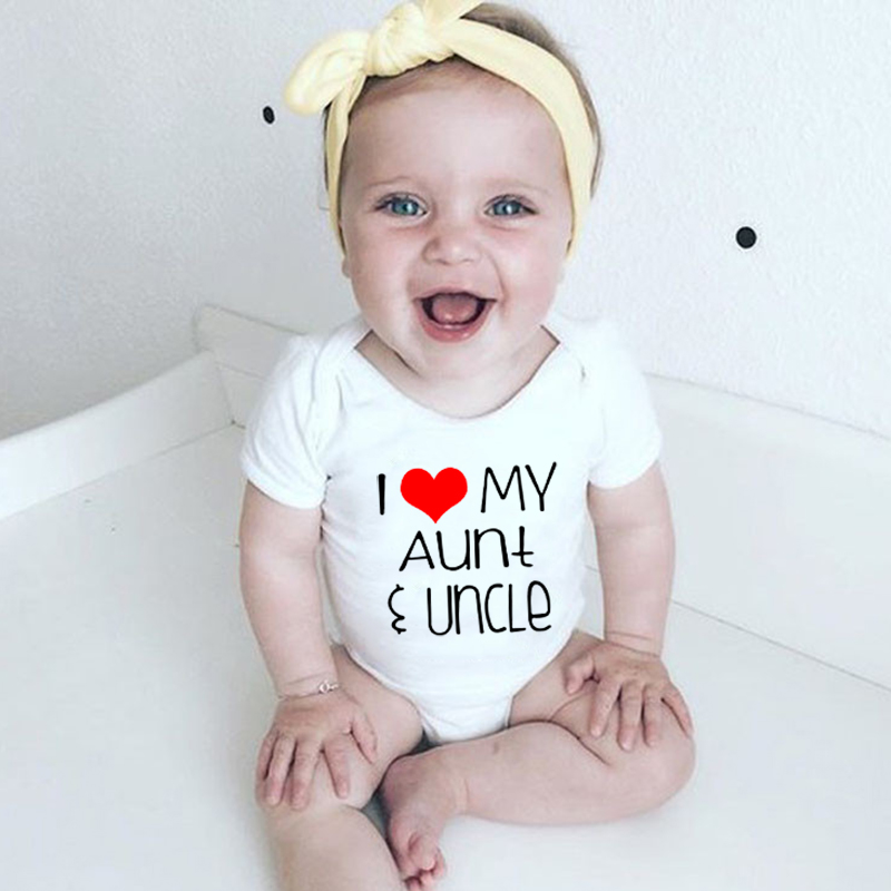 3 Pack Funny Uncle Niece or Nephew Bodysuits Vests New Baby Present Gift Auntie