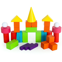 Children's mathematics teaching aids three-dimensional geometric model cubes cylinder conical shape rectangular building blocks eight unit cell cesium chloride crystal structure model cscl eight cubes molecular model chemistry teaching aids