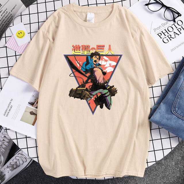 ATTACK ON TITAN THEMED T-SHIRT