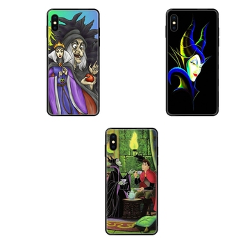 Inspirational Sleeping Beauty Evil Queen Black Soft TPU Case Coque Cover For Galaxy A70 A71 A70E A5 A6 A7 A8 A10 A10S A20 A20S image