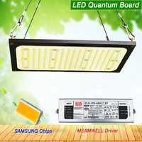 120W 240W Led Grow Light Quantum Board Samsung LM561C Chips 288LEDS Full Spectrum 3500K With Meanwell Driver for Indoor Plants