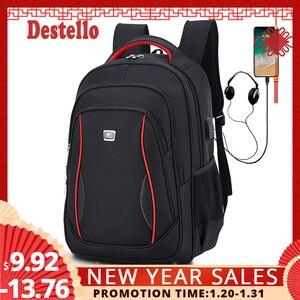 Waterproof Solid Large Backpac