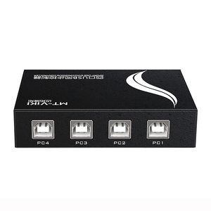 Image 5 - MT VIKI 4 Port USB Synchronous Controller Switcher  keyboard  mouse synchronizer for Multiple PCs Game Control with cable