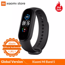 Xiaomi Mi Band 5 Smart Armband AMOLED Bildschirm Miband 5 Smartband Fitness Traker Bluetooth Sport Wasserdichte Smart Band