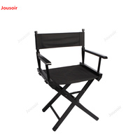 Director's chair folding canvas chair computer bar outdoor fishing beach chair solid wood CD50 T07