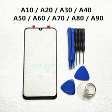 زجاج خارجي بديل لسامسونج ، شاشة تعمل باللمس ، زجاج خارجي لهاتف Galaxy A10 ، A20 ، A30 ، A40 ، A50 ، A60 ، A70 ، A80 ، 90