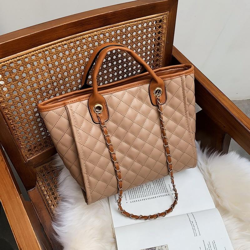 Bags Bag Women's 2019 New Style Fashion Korean-style Tote Bag PU Handbag Shoulder Bag WOMEN'S Handbag
