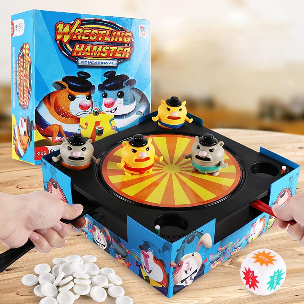 Kuulee Board Game Hitting Game Children Desktop Interactive Game Toy Game Machine Children's Desktop Interactive Game Toy