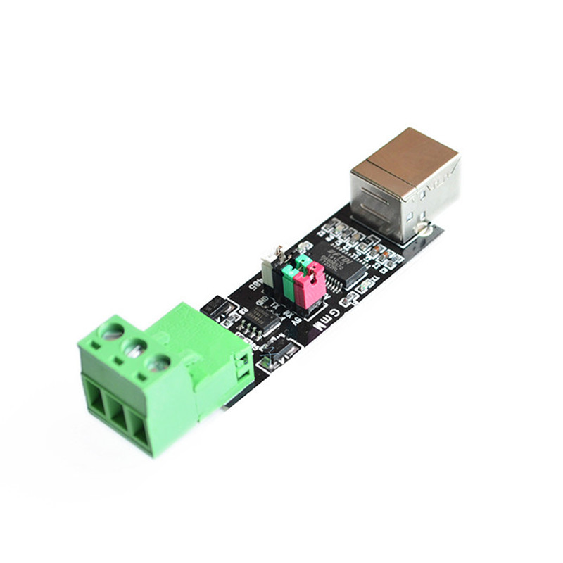 1 шт., модуль с двойной защитой от USB к 485, чип FT232, USB к TTL/RS485, двойная функция