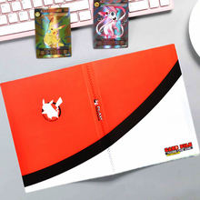 240pcs Pokemon Cards Album Book Anime EX GX Collectors Cartoon Game Card Binder Folder Loaded List Holder Capacity Children Toys