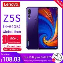 Global Version Lenovo Mobile Phone Z5S 2340*1080 Rear AI Zoo