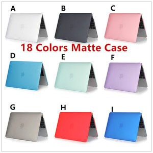 Laptop Case Cover for MacBook Pro Retina 11 12 13 15 Retina Notebook Case A1286 A1398 A1534 A1465 Matte Case Protective Cover