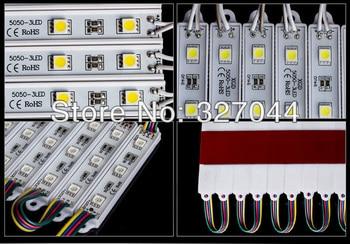 Waterproof IP65 DC12V 5050 led modules rgb led module Yellow/Green/Red/Blue/White/Warm White 200pcs/lot