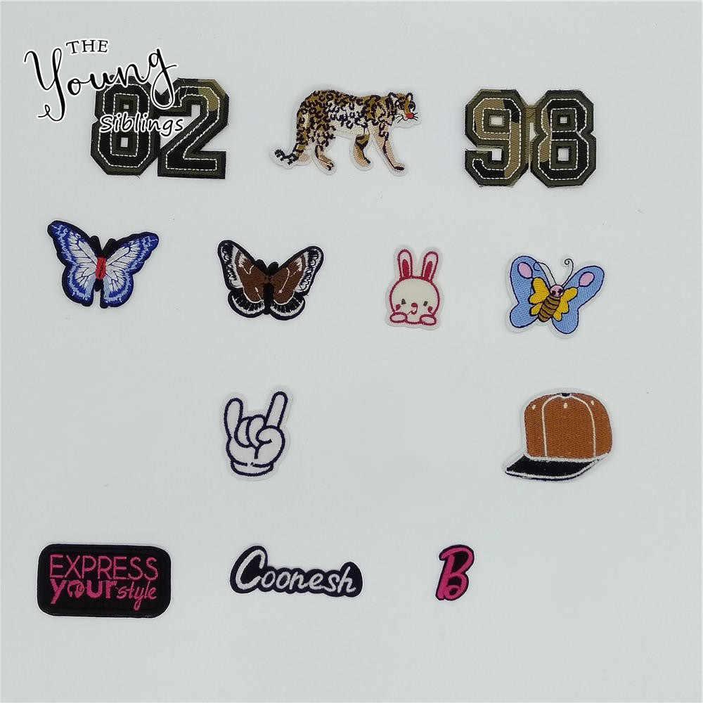 Mix Verschillende Stijl Ijzer Op Patch Kids Borduren Leuke Cartoon Patches Voor Kleding Sticker Jacket Diy Badges Applique Accessoire