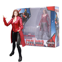 Marvel Avengers Scarlet Witch Action Figure Movable Model Toys