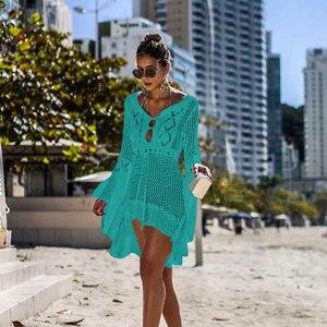 2020 топ купальник трикотажный женский пляжный солнцезащитный чехол