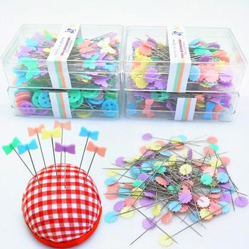 100Pcs Stainless Steel Dressmaking Pins Embroidery Patchwork Pins Sewing Needle DIY Accessories Sewing Tools 7YJ329