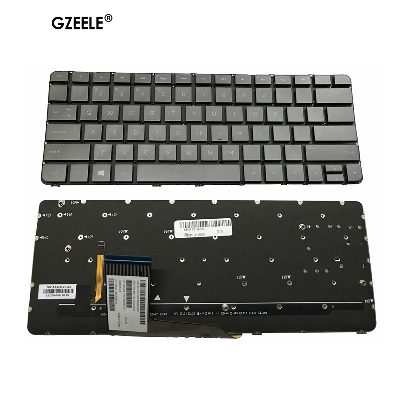 NEW US Black Keyboard For HP Spectre X360 13-4000 4103DX 4001 13T-4000 English