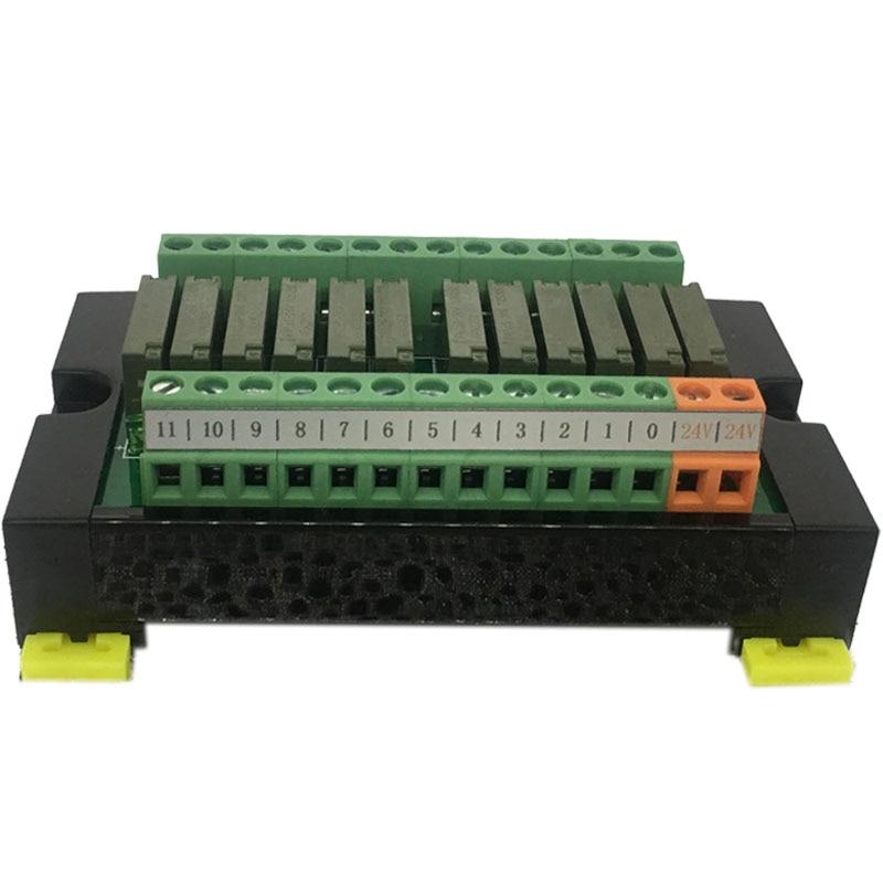 PLC Signal Amplifier Board 8-way 12-way 16-way Panasonic Original PA1A Relay Module Terminal Block