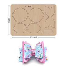 Bow Cutting Dies Diy Craft Leather Mold Scrapbooking Suitable For Common Big Shot And Sizzix Machines