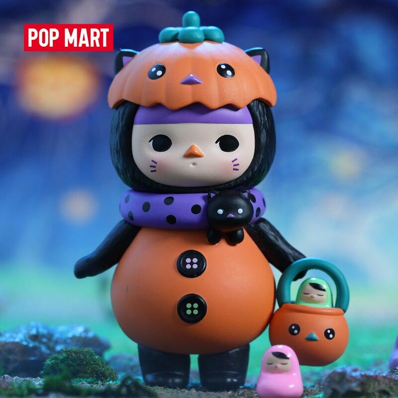 POP MART Pucky Monster Babies серия глухая коробка для Хэллоуина милая игрушка Kawaii vinstyle фигурки Бесплатная доставка|Игровые фигурки и трансформеры|   | АлиЭкспресс