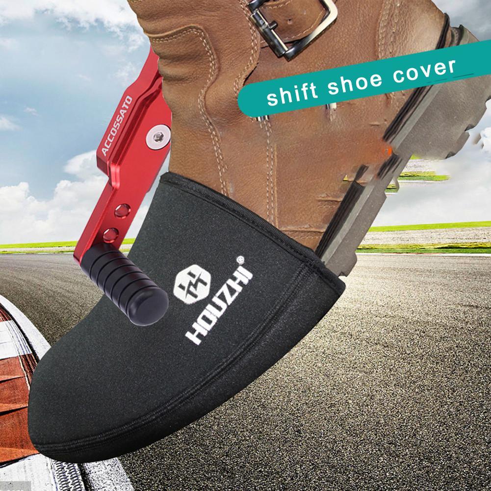 Motorrad Shift Schuh Boot Cover Schützende Getriebe Anti-slip Wasserdichte Abdeckung Getriebe Shifter Zubehör Leichte