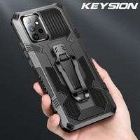 KEYSION-funda a prueba de golpes para Samsung A52 5G A72 A42 A32 A12 A02S, funda trasera de silicona para Galaxy S21 Ultra S20 + Note 10 Plus