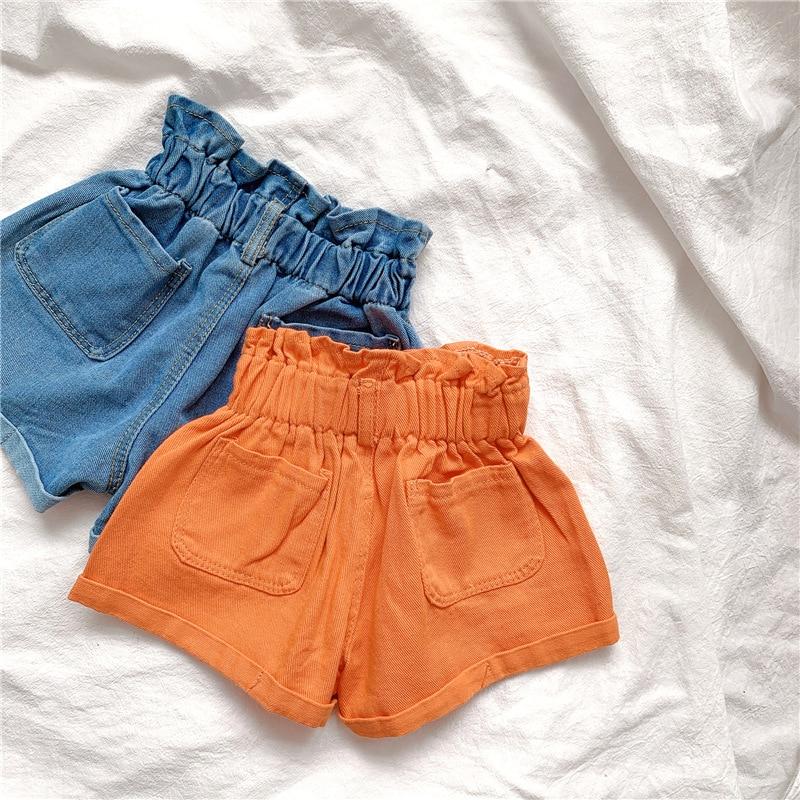 2020 Girl Summer  Kids Children Fashion Hot Jeans Denim Shorts Three Colors 3