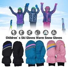 Дети 27 лет лыжи перчатки зима тепло дети 27 лет лыжи перчатки Подходит для на открытом воздухе катание на лыжах сноуборд зима спорт