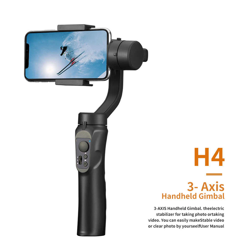 Stabilizing Gift Multifunction Portable Smart Phone USB Charging Handhold Gimbal Easy Install Travel Steady Smooth Holder