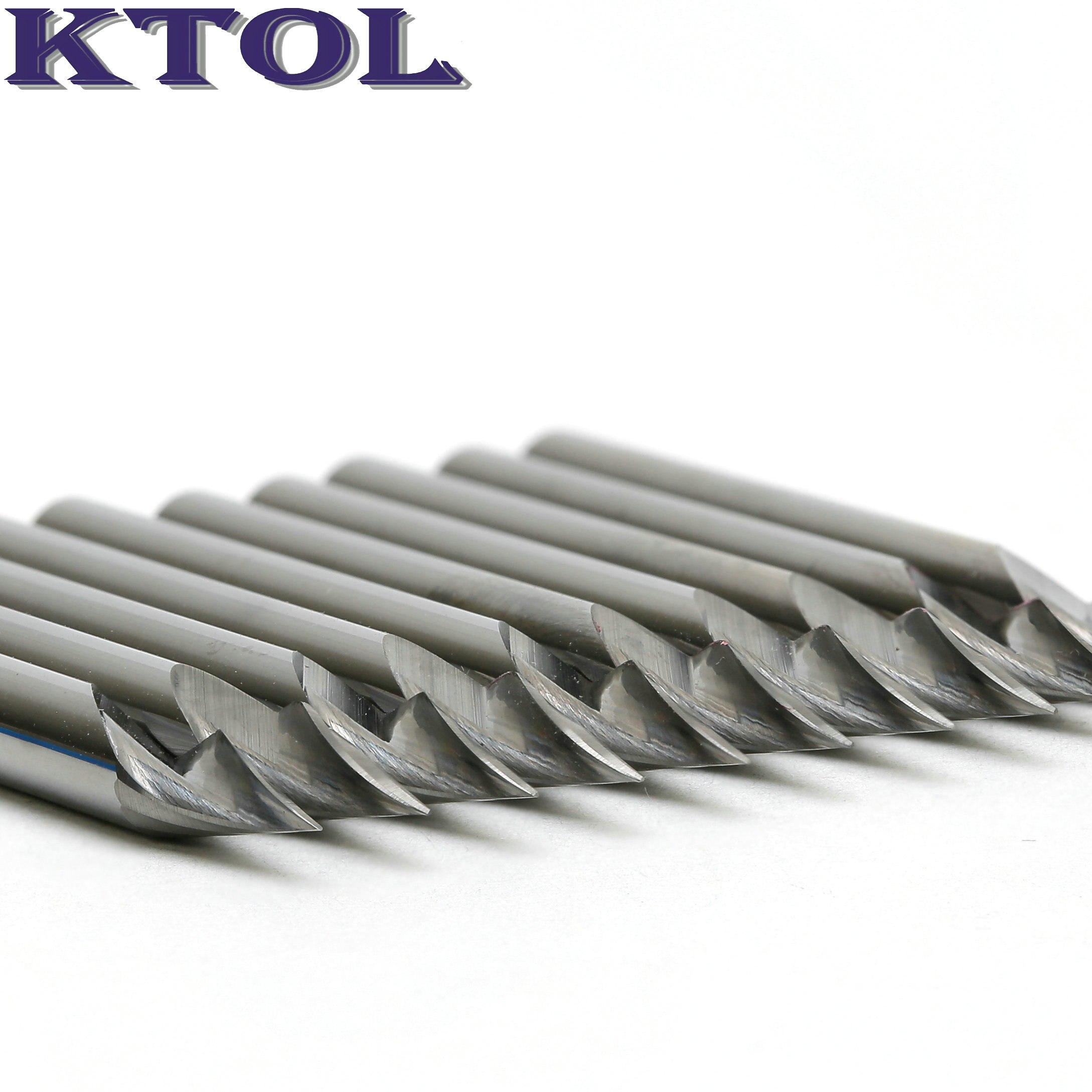 Tip0.2-0,5 мм 3,175*36 угол 1 рифленая Концевая фреза V маршрутизатор бит PCB гравировальный резак ЧПУ твердосплавный фрезерный инструмент для стали м...
