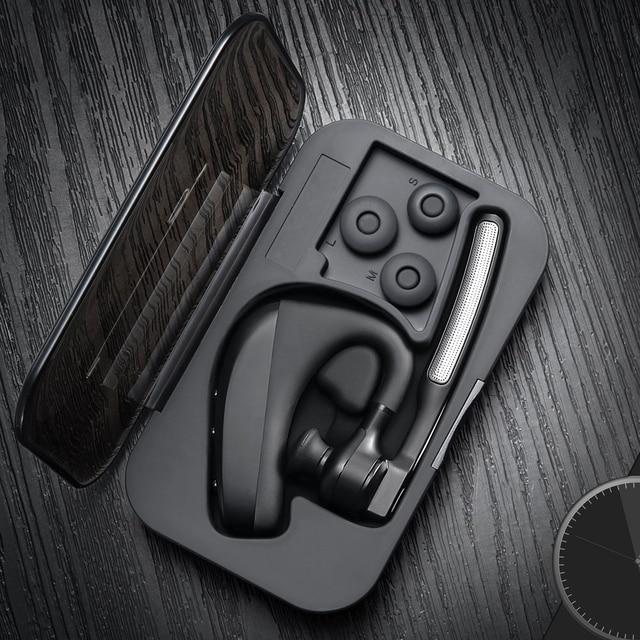 K10 zestaw słuchawkowy Bluetooth głośnomówiący bezprzewodowe słuchawki stereo z samochodem biznesowe słuchawki gratis