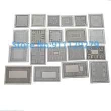 20pcs Calor Diretamente Stencils Set I3 I5 I7 SR170 SR1YW I5-3317U AM5200 SR071 218-0755097 216-0752001 216-0674022 BGA Template