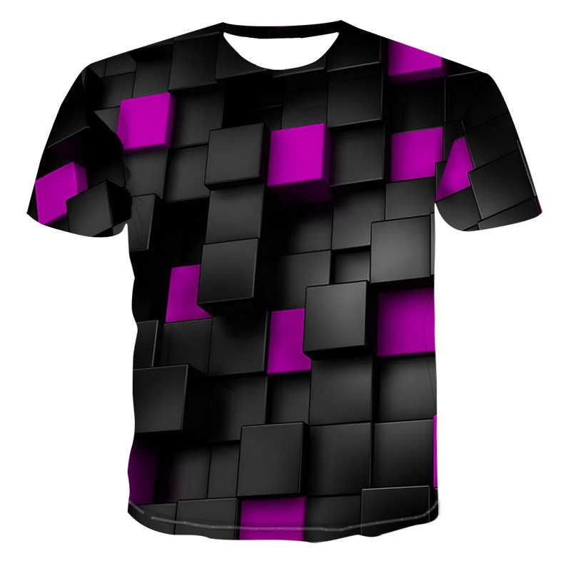 2020 yeni erkek rahat kısa kollu tişört yuvarlak boyun moda komik baskı 3D T-shirt erkekler ve kadınlar kaliteli marka gömlek